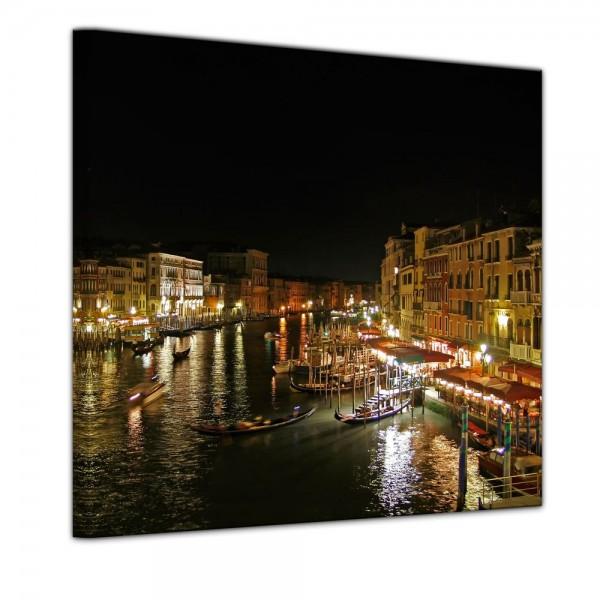 SALE Leinwandbild - Venedig III - 60x60 cm