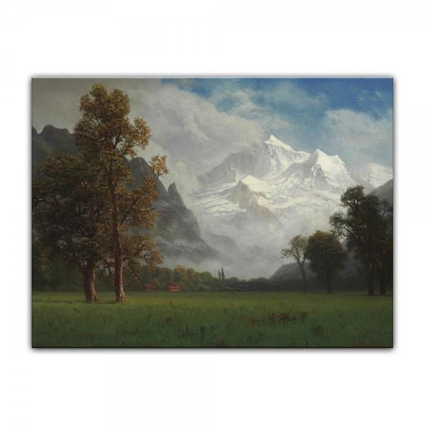 Leinwandbild - Albert Bierstadt - Jungfrau