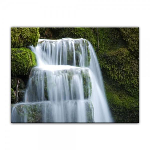 Leinwandbild - Wasserfall