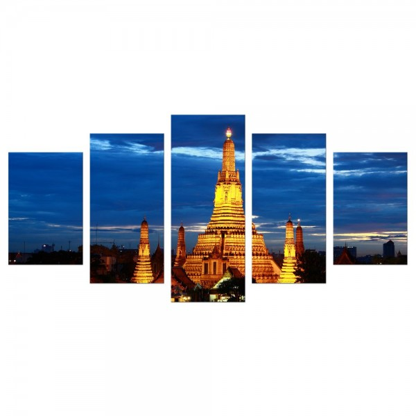 Leinwandbild - Wat Arun Bangkok