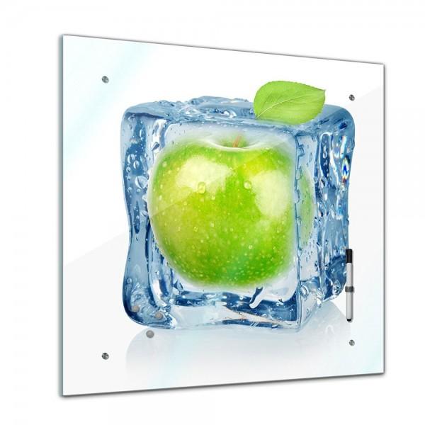 Memoboard - Essen & Trinken - Eiswürfel Apfel - 40x40 cm