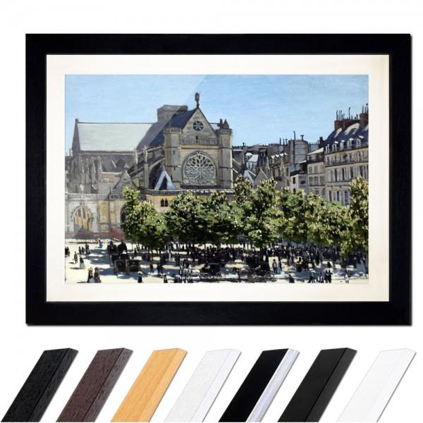 Claude Monet - Saint Germain l'Auxerrois in Paris