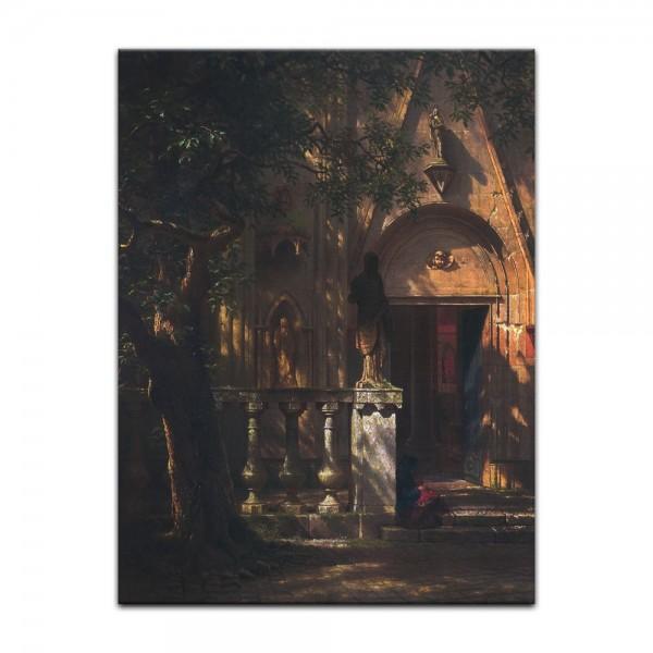 Leinwandbild - Albert Bierstadt - Sunlight and Shadow