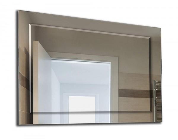 Wandspiegel - Doppelspiegel bestehend aus Facettenspiegel und Normalspiegel