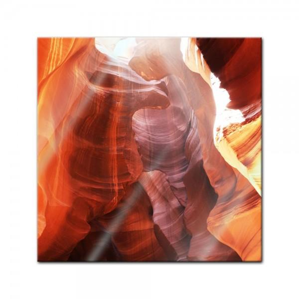 Glasbild - Antelope Canyon - Arizona USA II
