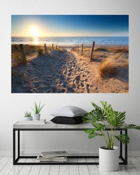 Fototapete - Schöner Weg zum Strand III