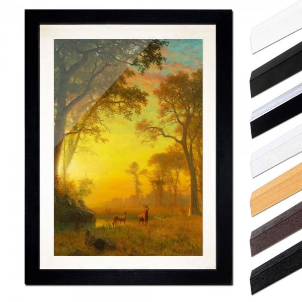 Albert Bierstadt - Light in the Forest