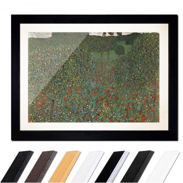 Gustav Klimt - Mohnfeld