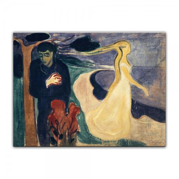 Leinwandbild - Edvard Munch - Separation - Trennung
