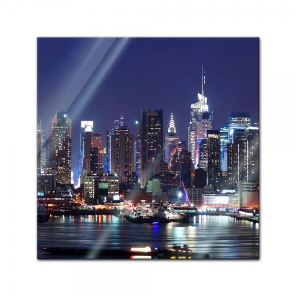 Glasbild - New York III