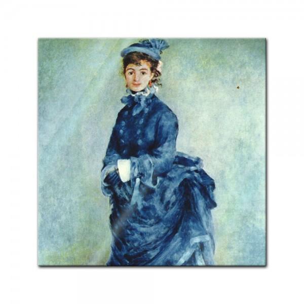 Glasbild Pierre-Auguste Renoir - Alte Meister - Die Pariserin
