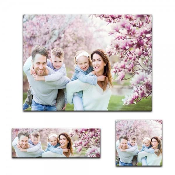 Glasbild - Foto Wunschmotiv in 7 verschiedenen Formaten