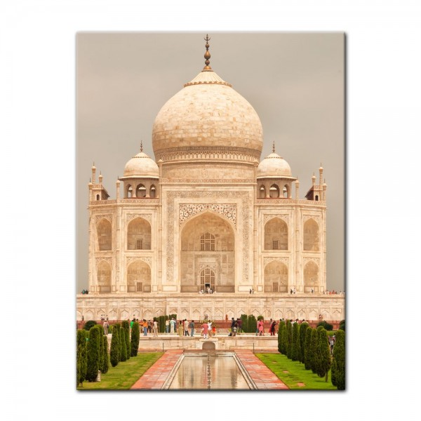 Leinwandbild - Taj Mahal Agra