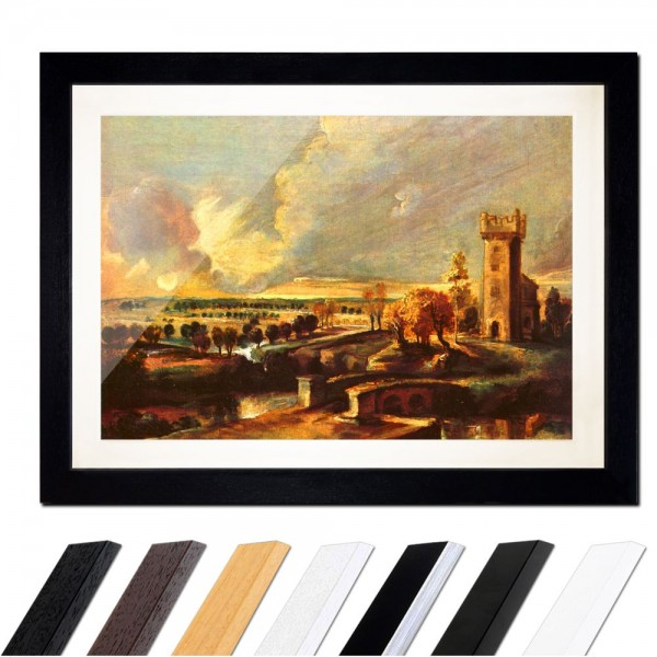 Peter Paul Rubens - Landschaft mit dem Turm des Schlosses Steen