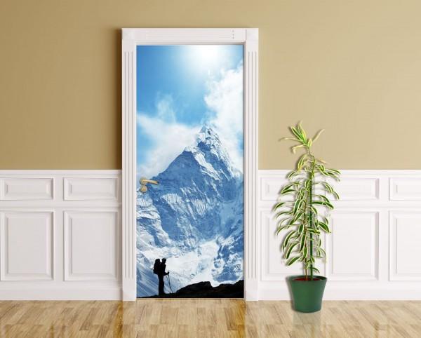 Türaufkleber - Klettern im Himalaya