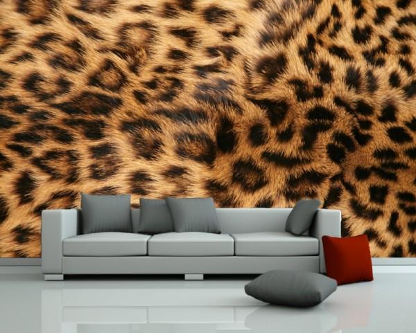 Fototapete Leopardenfell