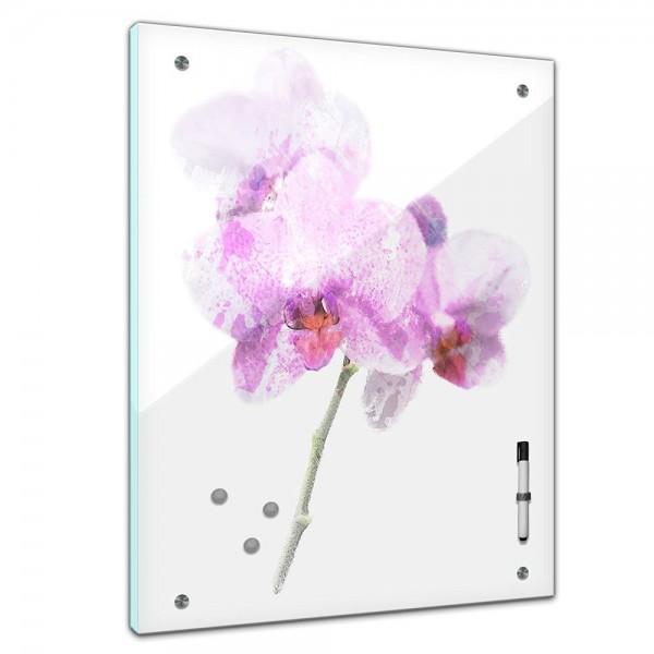 Memoboard - Aquarelle - Lila Orchidee