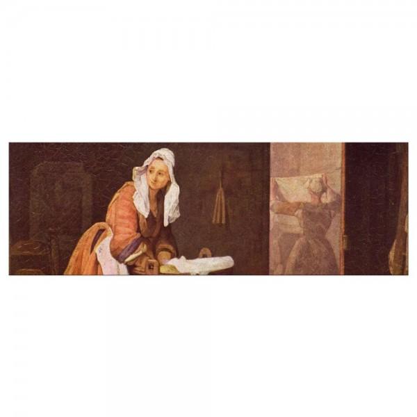 Leinwandbild - Jean Siméon Chardin - Die Wäscherin