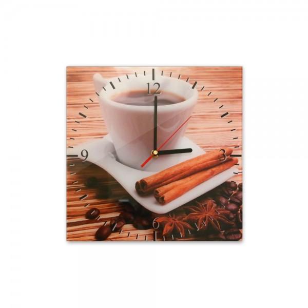 Glasuhr - Tasse Kaffee - 031