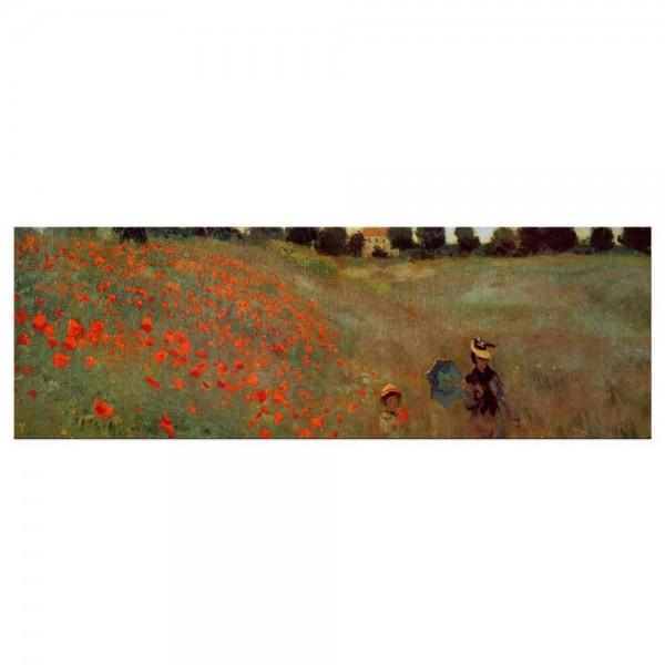 Leinwandbild - Claude Monet - Mohnfeld bei Argenteuil