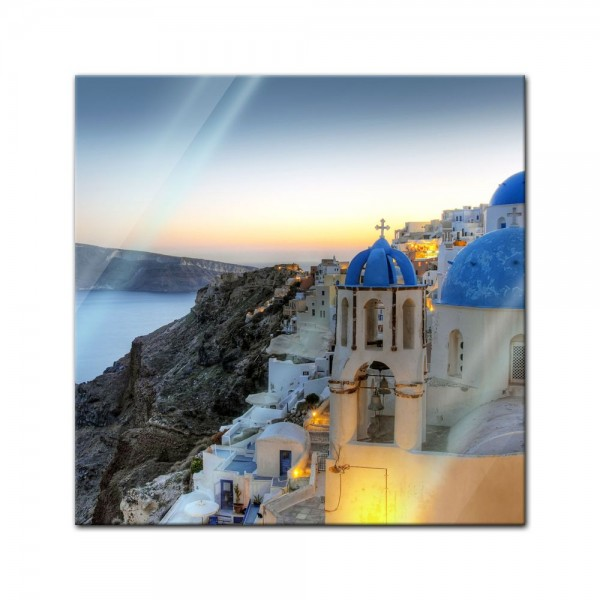 Glasbild - Santorini - Griechenland
