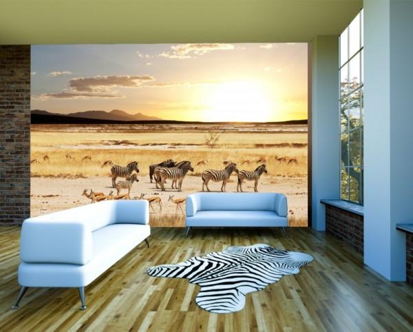 Fototapete Afrikanische Savanne