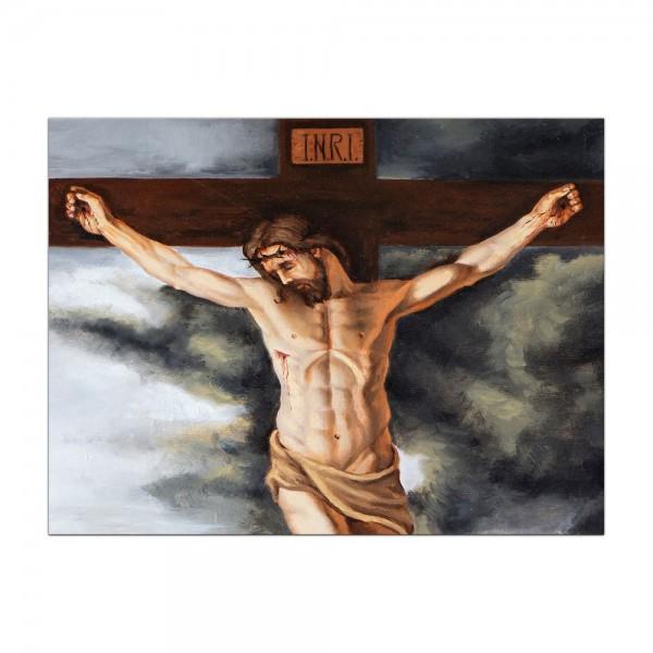 Leinwandbild - Jesus am Kreuz