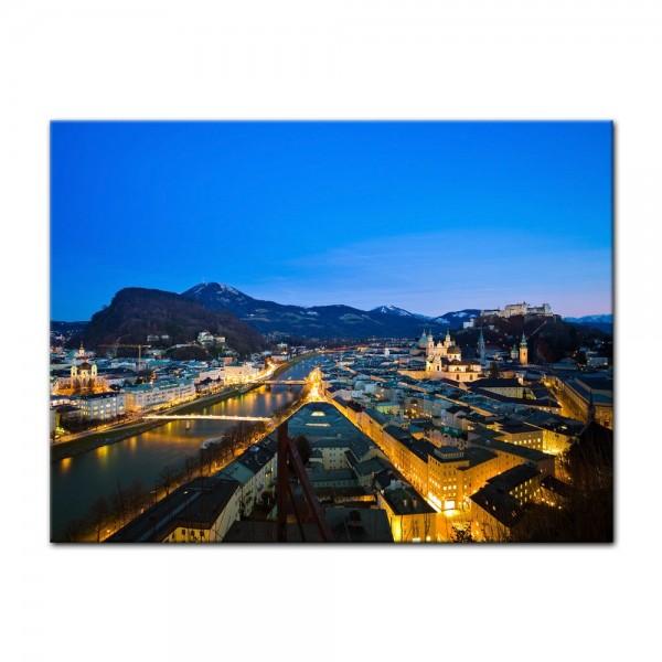 Leinwandbild - Salzburg Österreich
