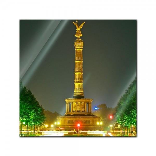 Glasbild - Berliner Siegessäule