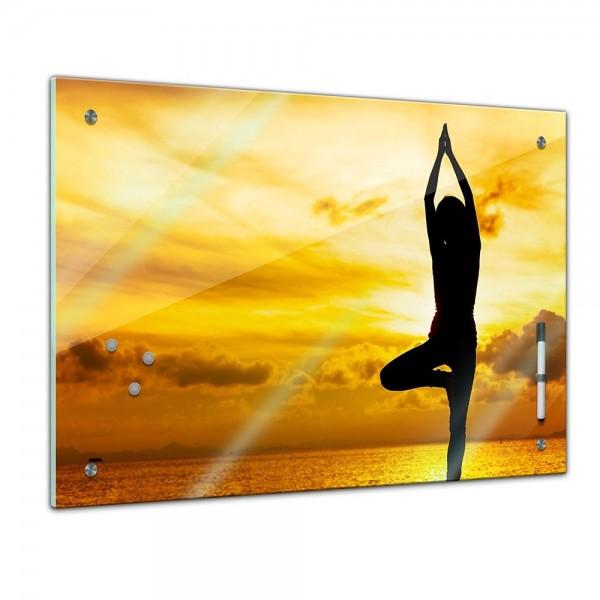 Memoboard - Geist & Seele - Yoga