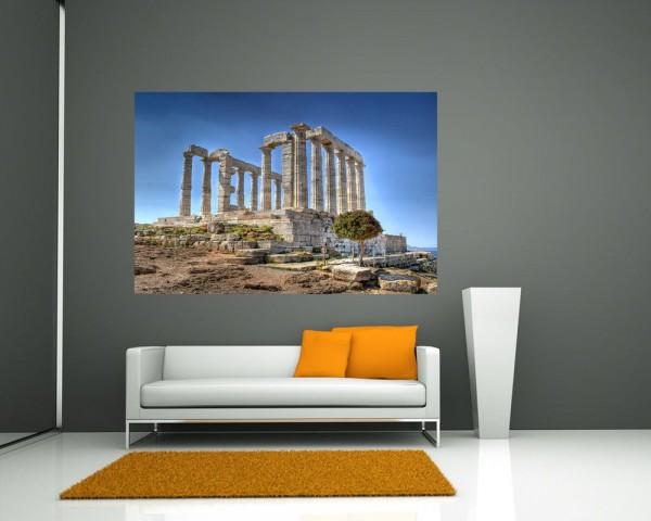 Fototapete - Kap Sounion - Griechenland