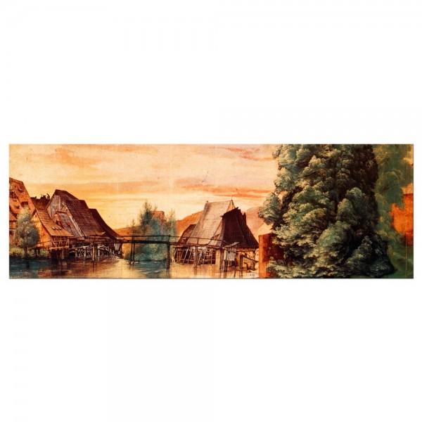 Leinwandbild - Albrecht Dürer - Die Weidenmühle