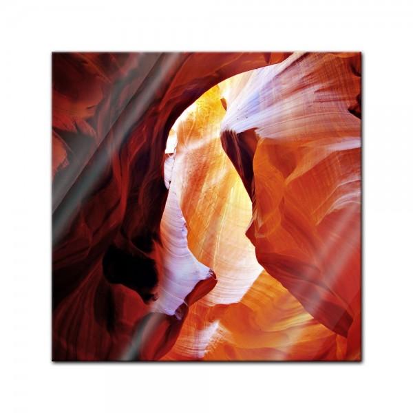 Glasbild - Antelope Canyon III