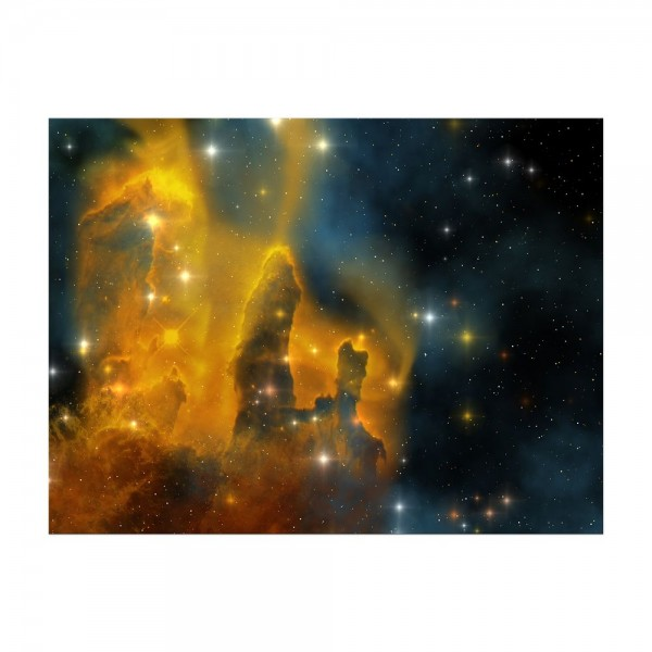 Leinwandbild - Nebula Galaxie