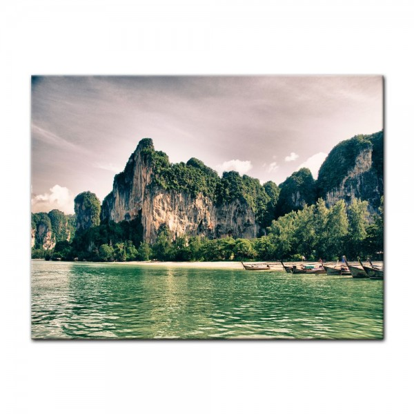 Leinwandbild - Thailand Landschaft