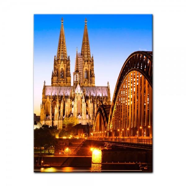 Leinwandbild - Kölner Dom - Deutschland