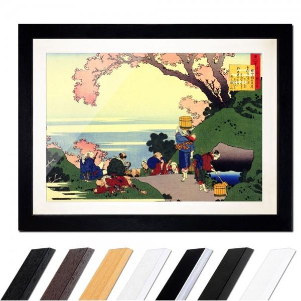 Katsushika Hokusai - Oe No Masafusa