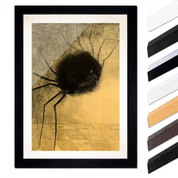 Odilon Redon - Die lächelnde Spinne