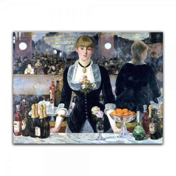 Leinwandbild - Édouard Manet - Bar in den Folies-Bergère