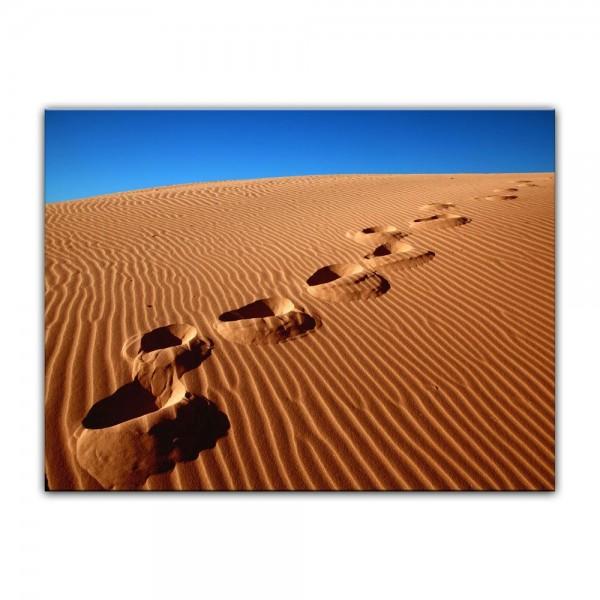 Leinwandbild - Wüste