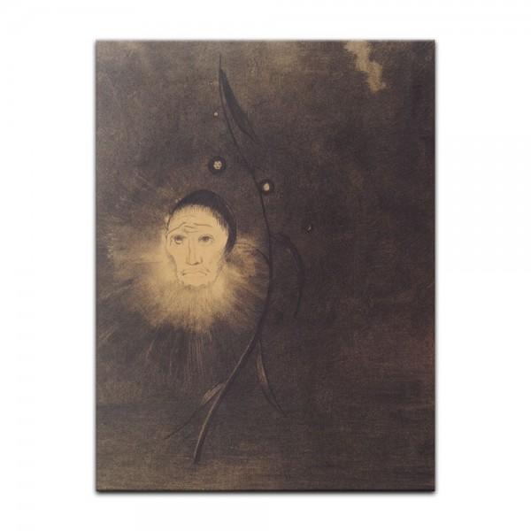 Leinwandbild - Odilon Redon - Sumpfblume
