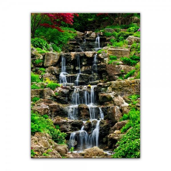 Leinwandbild - Wasserfall II