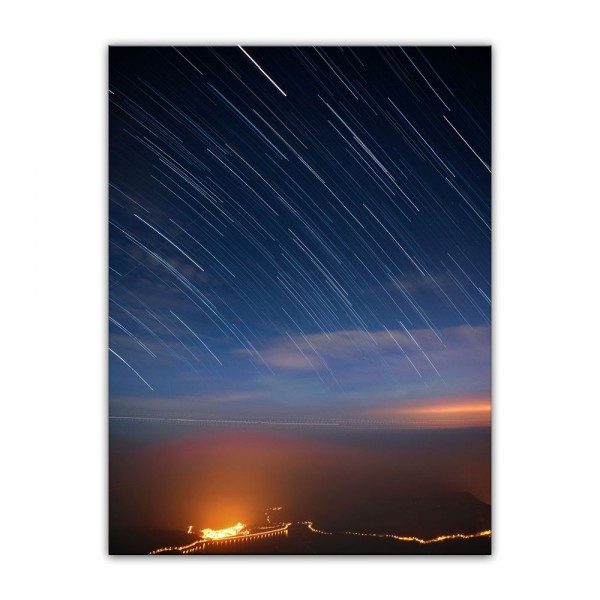 Leinwandbild - Sternenschauer