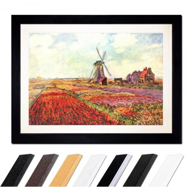 Claude Monet - Tulpen von Holland