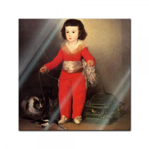 Glasbild Francisco de Goya - Alte Meister - Don Manuel Osorio Manrique de Zuñiga