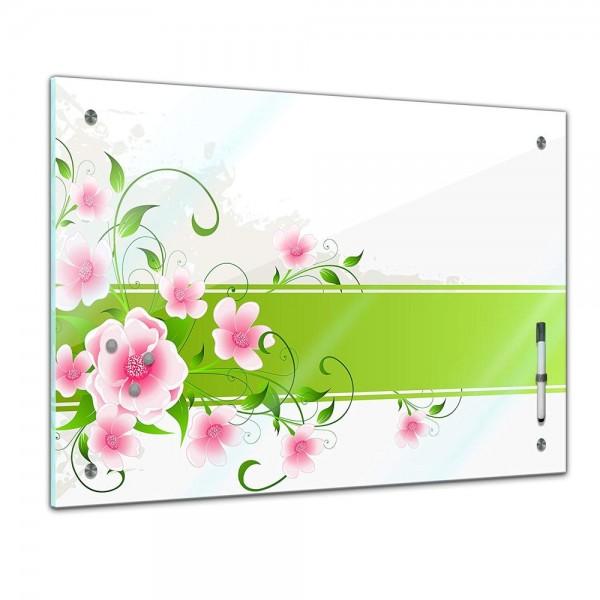 Memoboard - Pflanzen & Blumen - Blumen Grunge