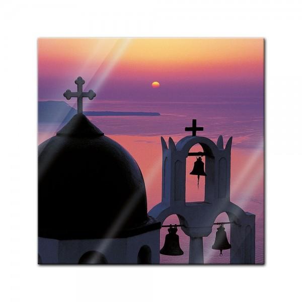 Glasbild - Mediteran II