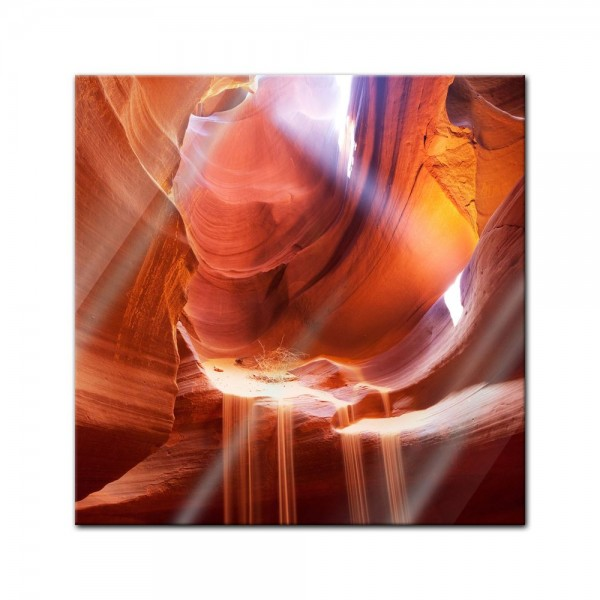 Glasbild - Antelope Canyon IV - Arizona USA