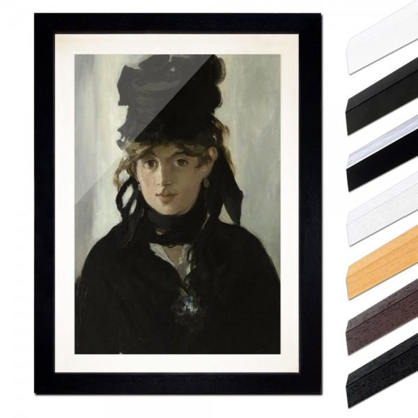Édouard Manet - Berthe Morisot mit Veilchenstrauß