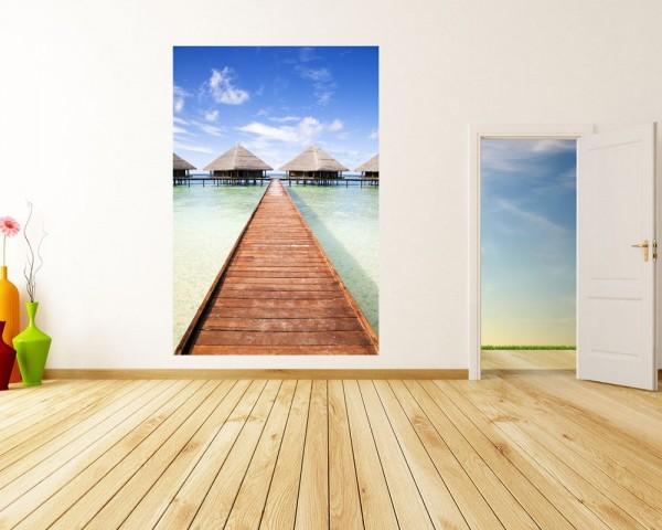 Fototapete - Tropischer Strand